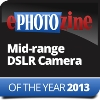 ePHOTOzine Mid Range DSLR camera of the year 2013